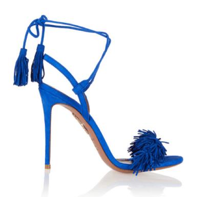 Aquazurra 'Wild Thing' sandals 575€