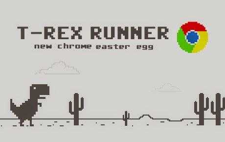 Cara Mudah Main Game Dinosaurus di Chrome Saat Masih Online