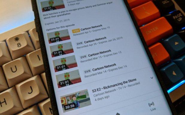 YouTube TV Luncurkan kontrol Penuh DVR Untuk Lebih Banyak Saluran