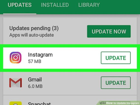 Update Instagram