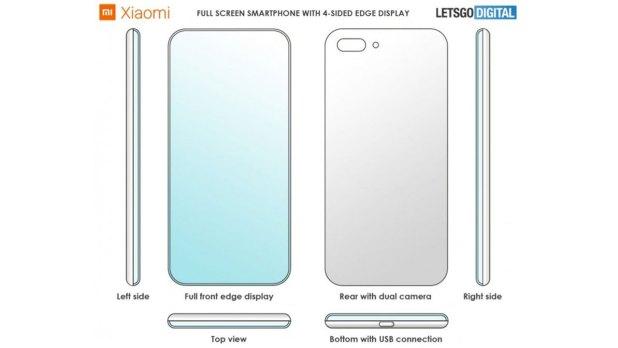 Xiaomi Resmikan Smartphone dengan Layar Melengkung Pada Setiap Sisinya