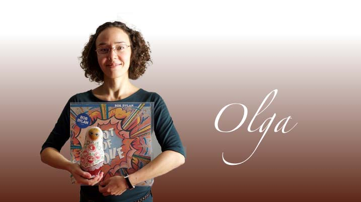 Olga, professeur pour les cours de Russe et d'Anglais