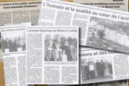 articles de presse rédaction correspondante locale de presse
