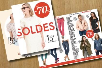 Flyer Soldes / 2016