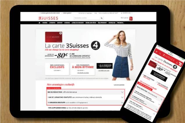 rédaction rédaction multicanal conception rédaction rédaction de site internet rédaction de site mobile rédaction marketing Céline Plunian freelance 3Suisses