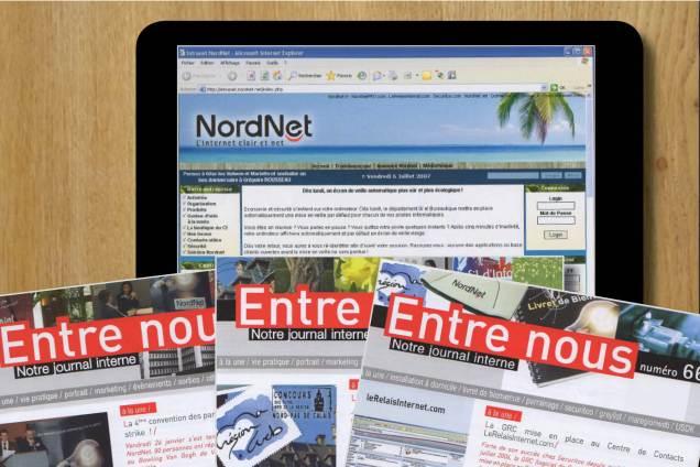 rédaction journal interne rédaction intranet nordnet Céline Plunian freelance 3Suisses