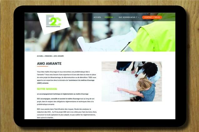 SITE INTERNET E2C CONCEPTION 2018
