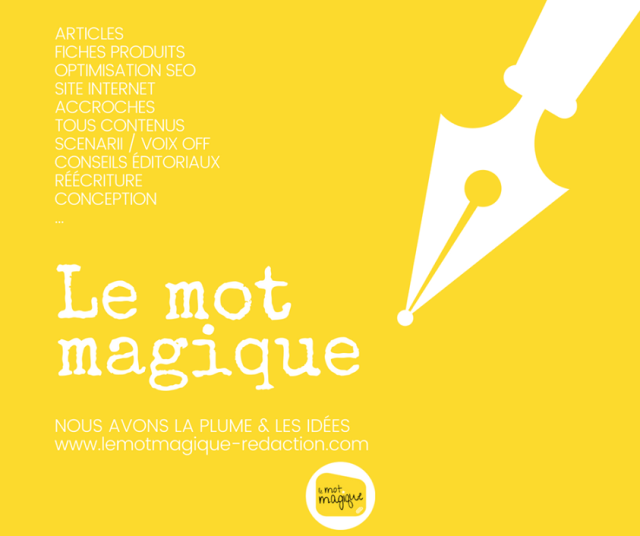 le mot magique conception rédaction freelance tous supports