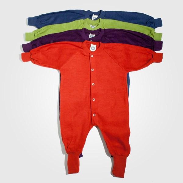 Pyjamas laine cosilana sans pieds