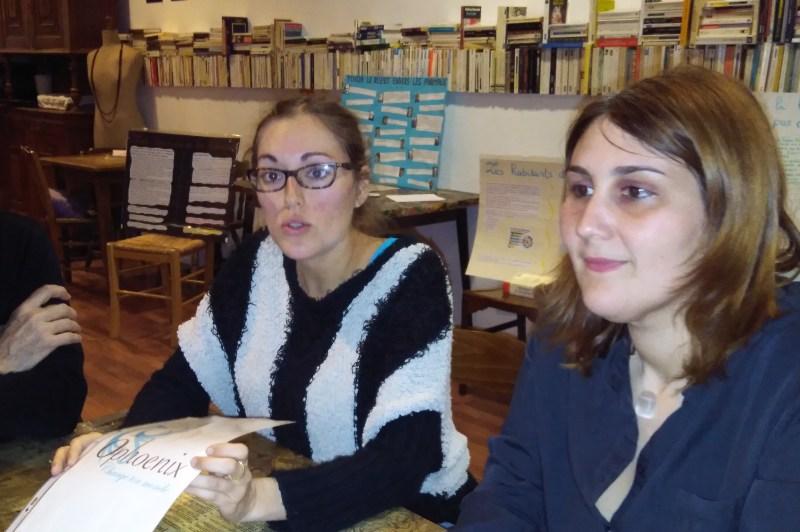 Laura Andreoletti et Cécile de Los Arcos