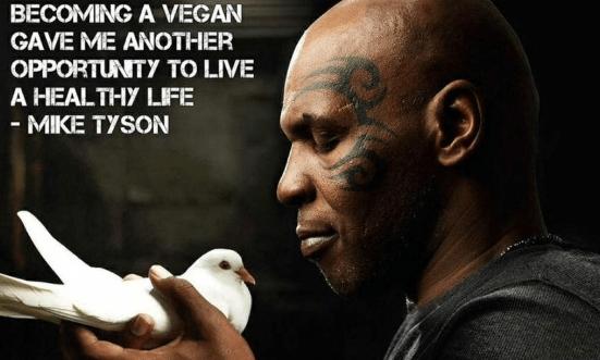 becoming vegan Mike Tyson