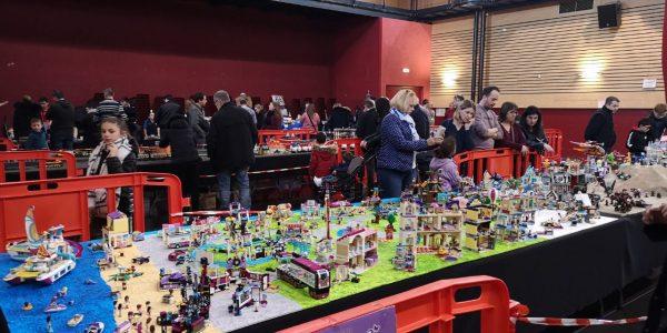 Exposition Lego à Milhaud, février 2019