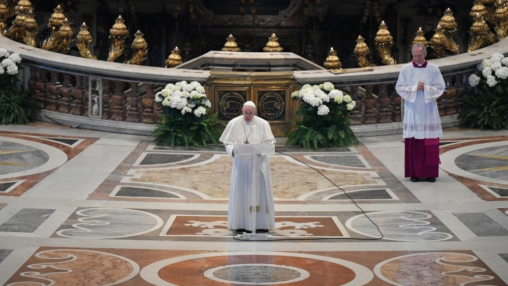 Pape François 12 avril 2020