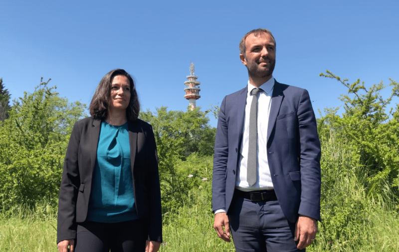 Coralie Mantion et Michael Delafosse municipales 2020