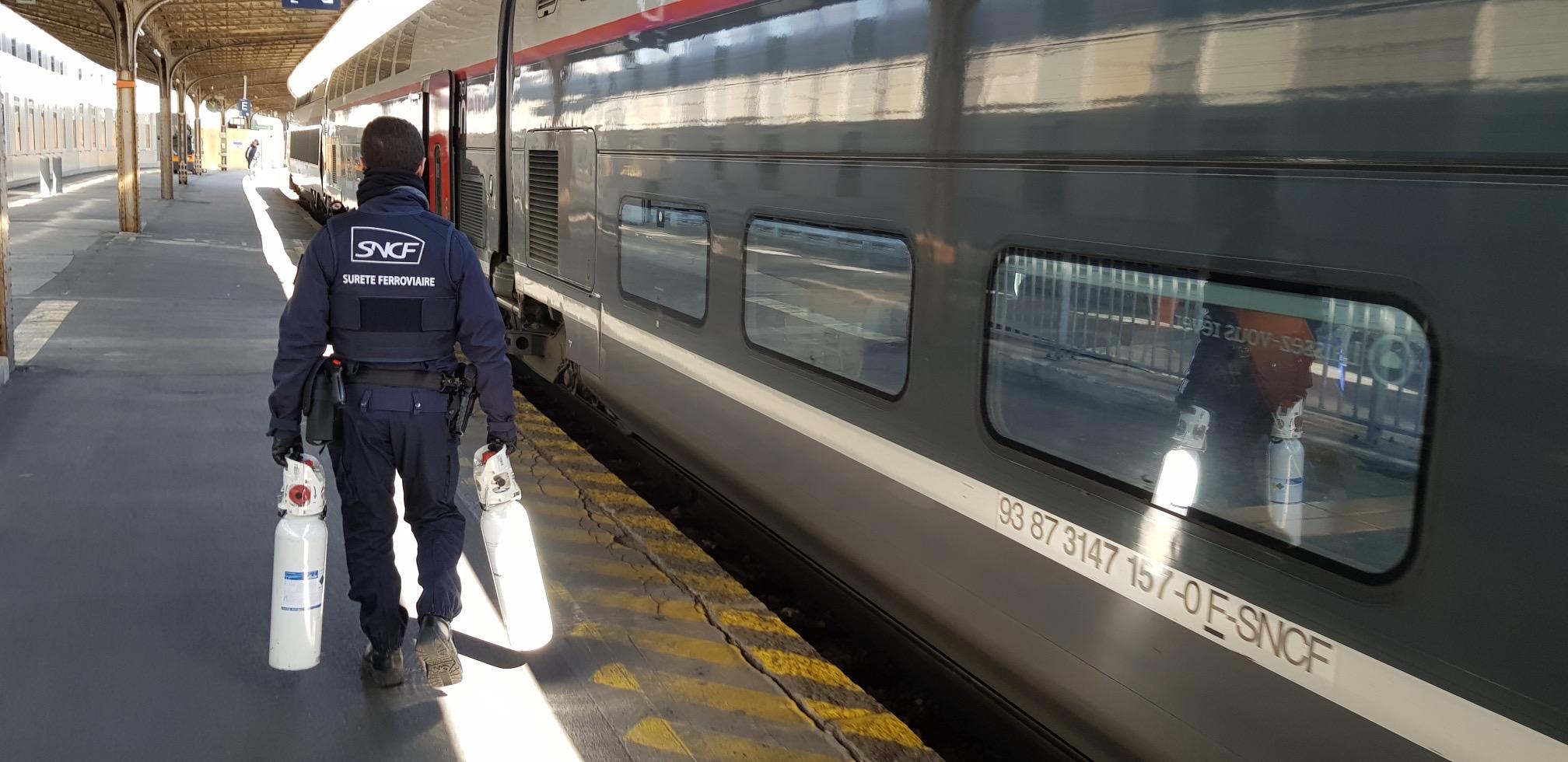 Opération covid SNCF © groupeSNCF