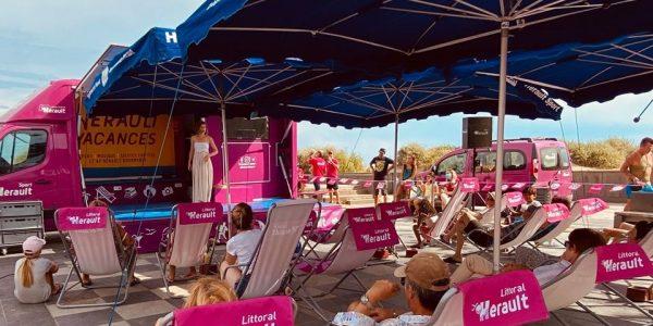 La Tournée Hérault Vacances fait une escale à Palavas-les-Flots, mercredi 12 août prochain