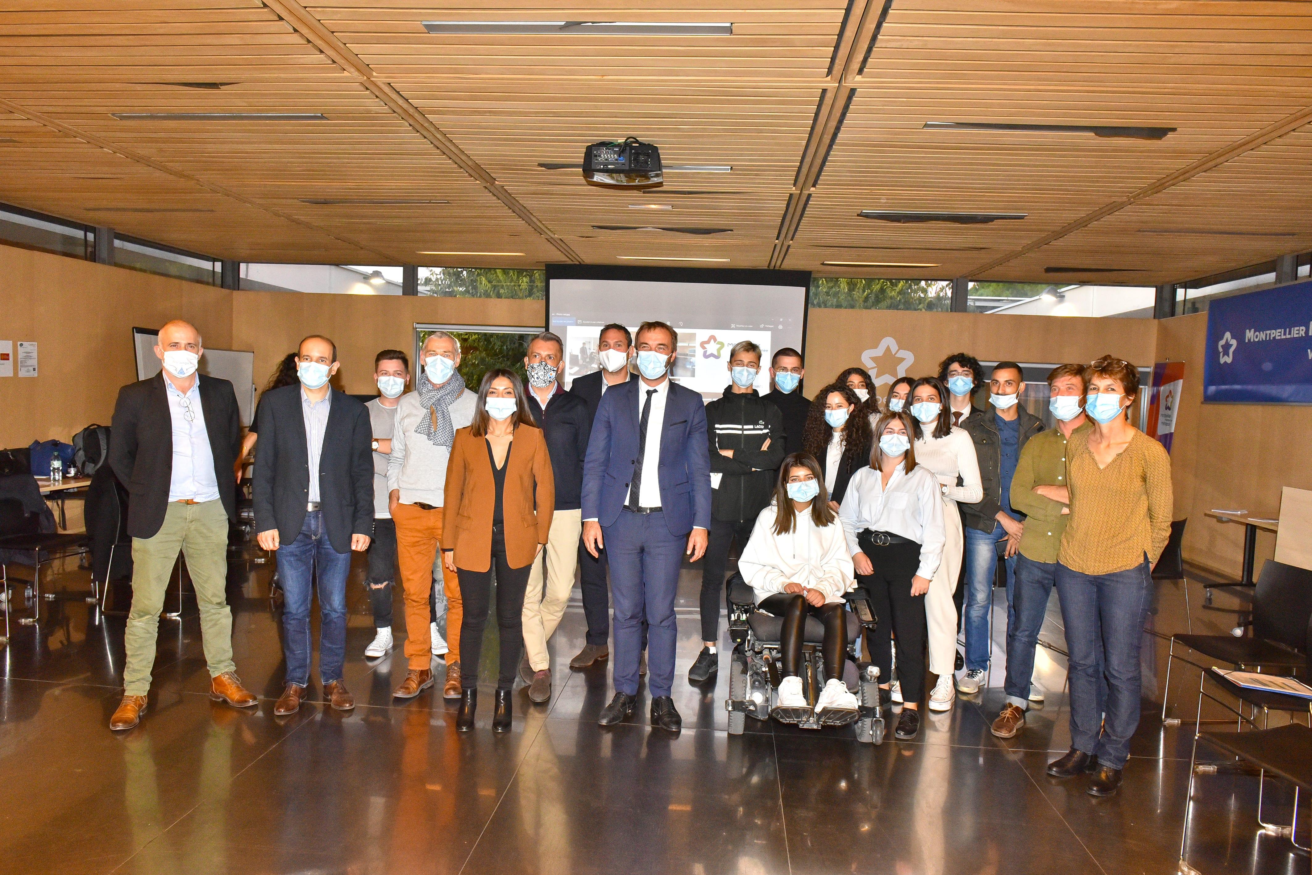 Montpellier : célébration des gagnants du 22e concours I-LAB