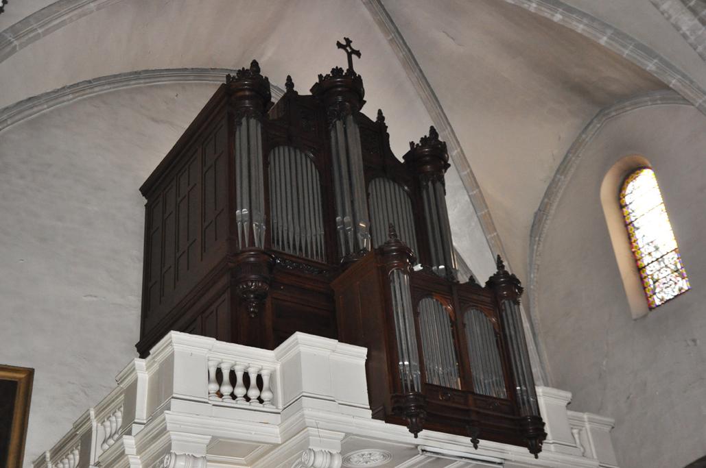 Lunel : Église Notre-Dame-du-Lac - Orgue (CR)