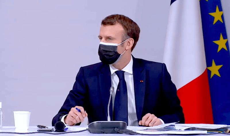 Emmanuel Macron rencontre les membres de la Convention Citoyenne 12-2020