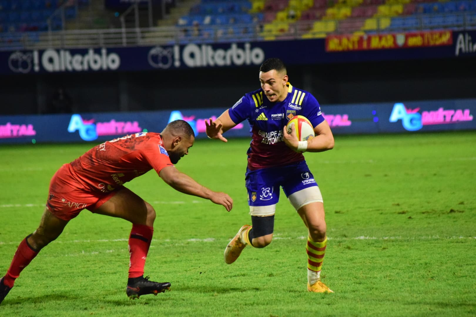 Rugby : Perpignan - Oyonnax