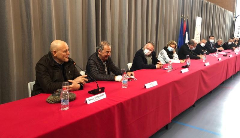 Conférence de presse à Saint-Brès mobilisation générale pour la chasse