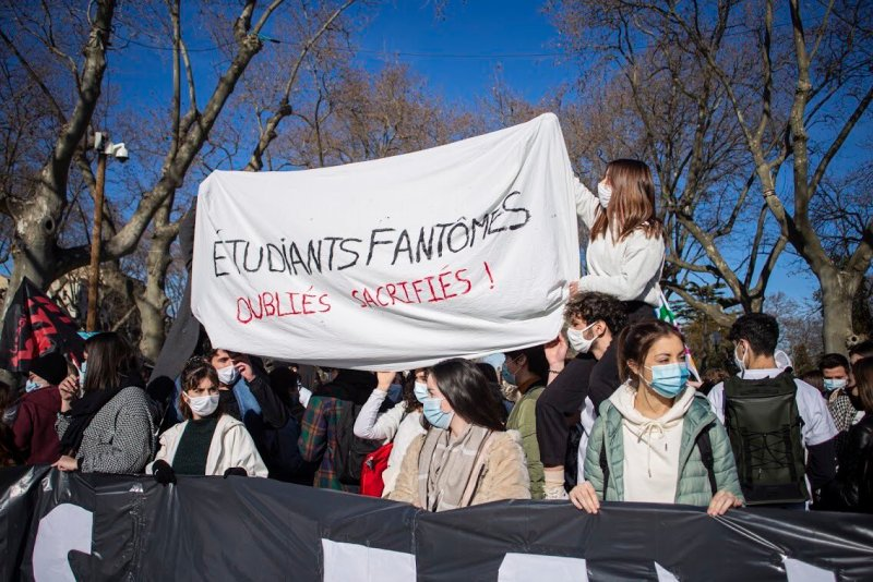 Etudiants Fantomes Montpellier ©Echo Des Étudiants