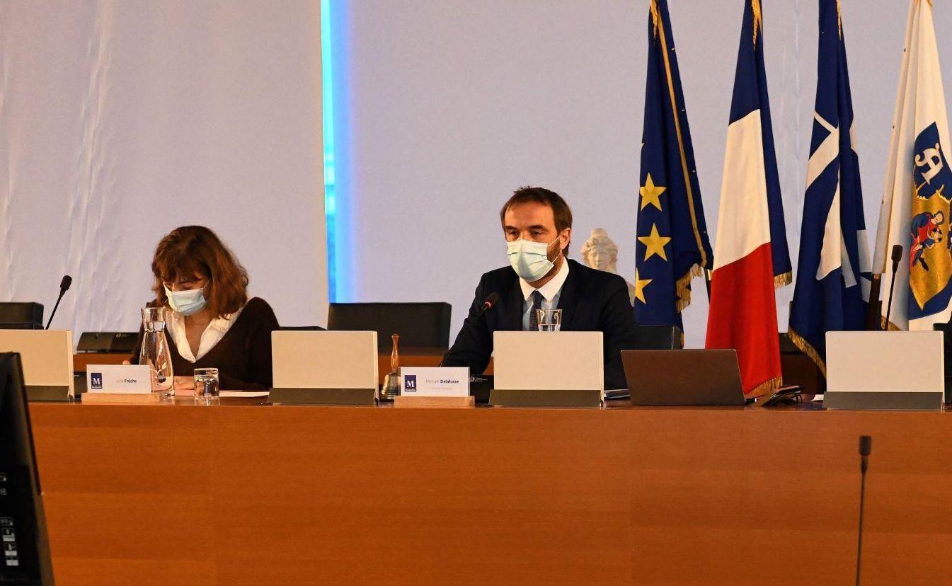 Montpellier 8 février 2021 Conseil municipal
