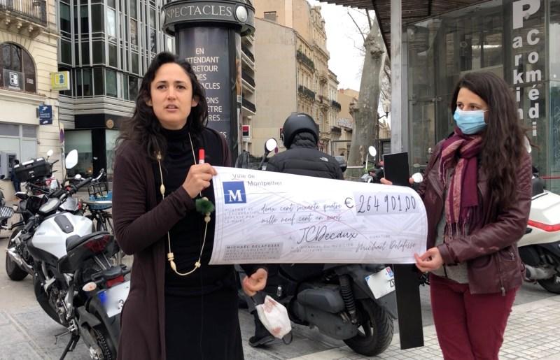 Nous Sommes Montpellier réagit à la campagne de JC Decaux SA sur la solidarité ©JPV