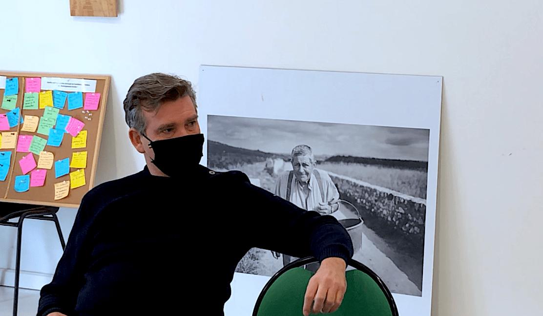 Arnaud Montebourg à Montpeyroux mars 2021
