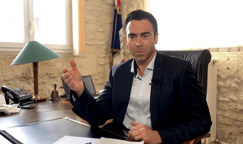 Arnaud Moynier, Maire de Beaulieu et conseiller de Montpellier Méditerranée Métropole (©LMI)