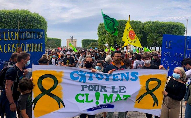 Marche climat 9 mai 2021 Montpellier ©LMI
