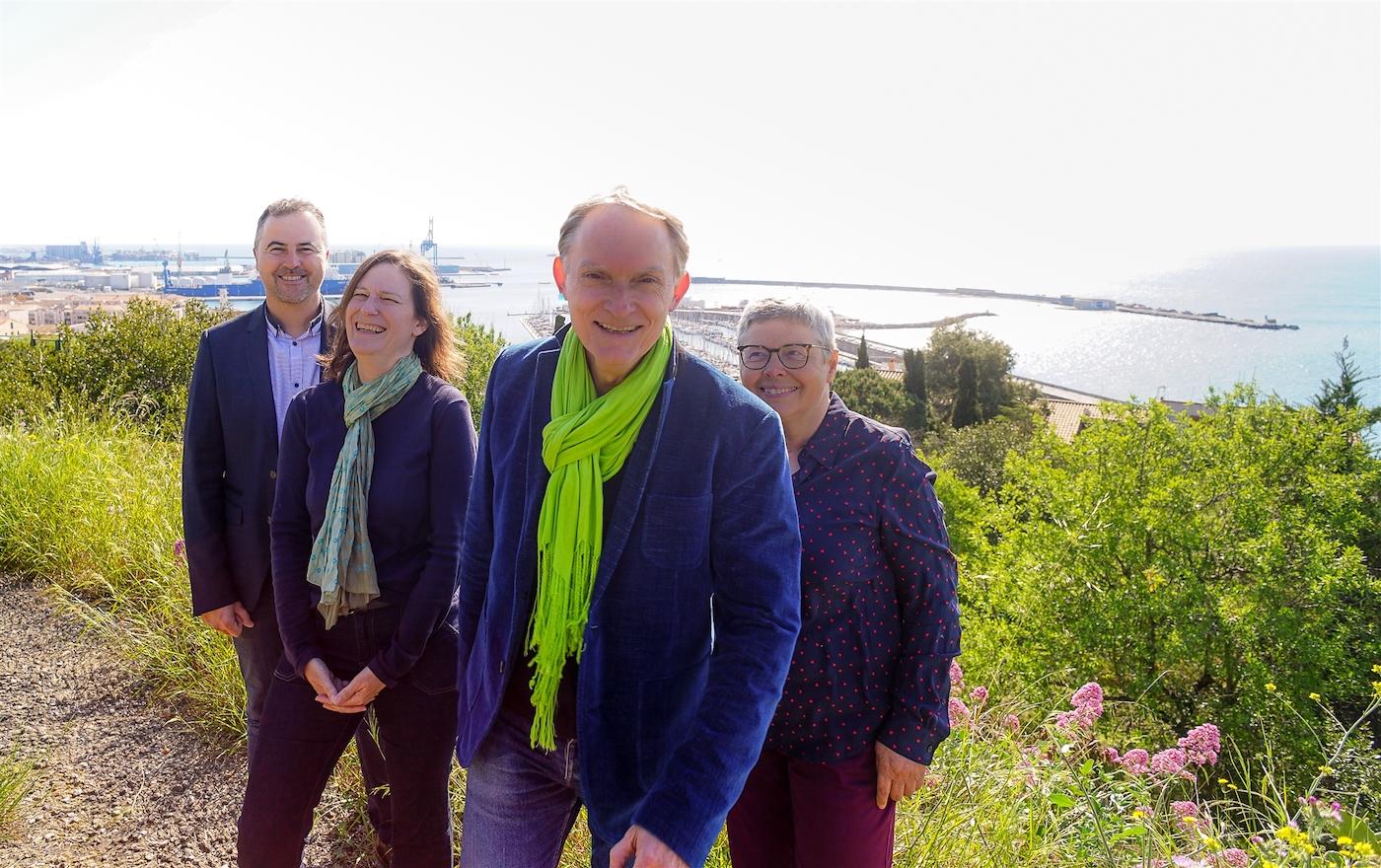 Jean-Pierre Louvel, Josiane Amarger, Laurent Hercé, Marie-Thérèse Mattera Départementales 2021
