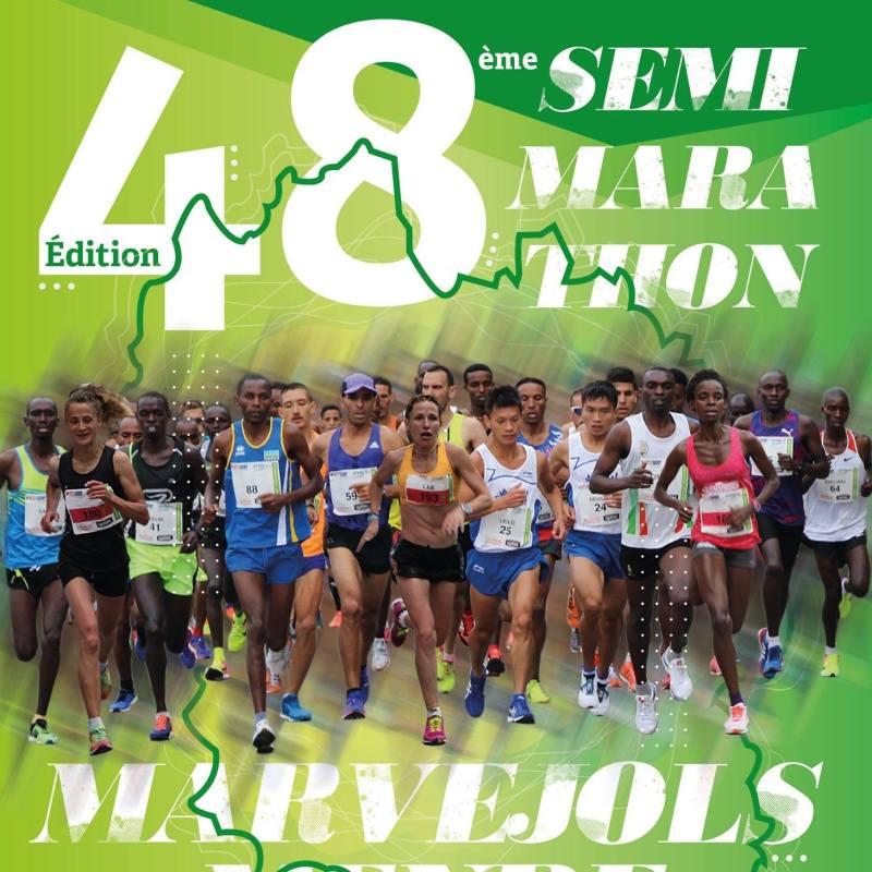 48e semi marathon Marvejols Mende