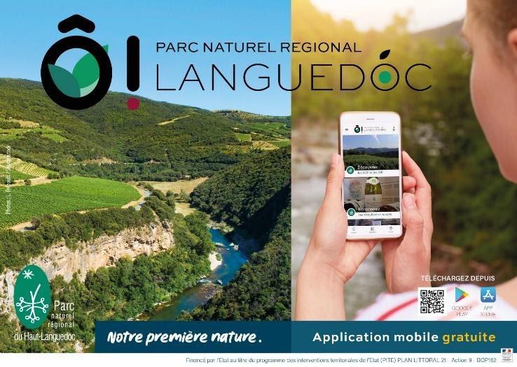 Appli du Parc naturel du Haut-Languedoc