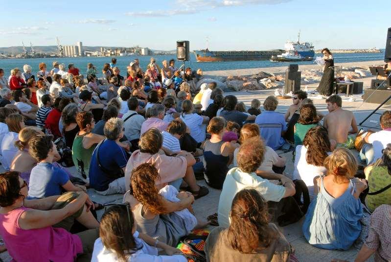 Sète Festival de la poésie du 23 juillet au 31 juillet (©E.Teissèdre Voix Vives)