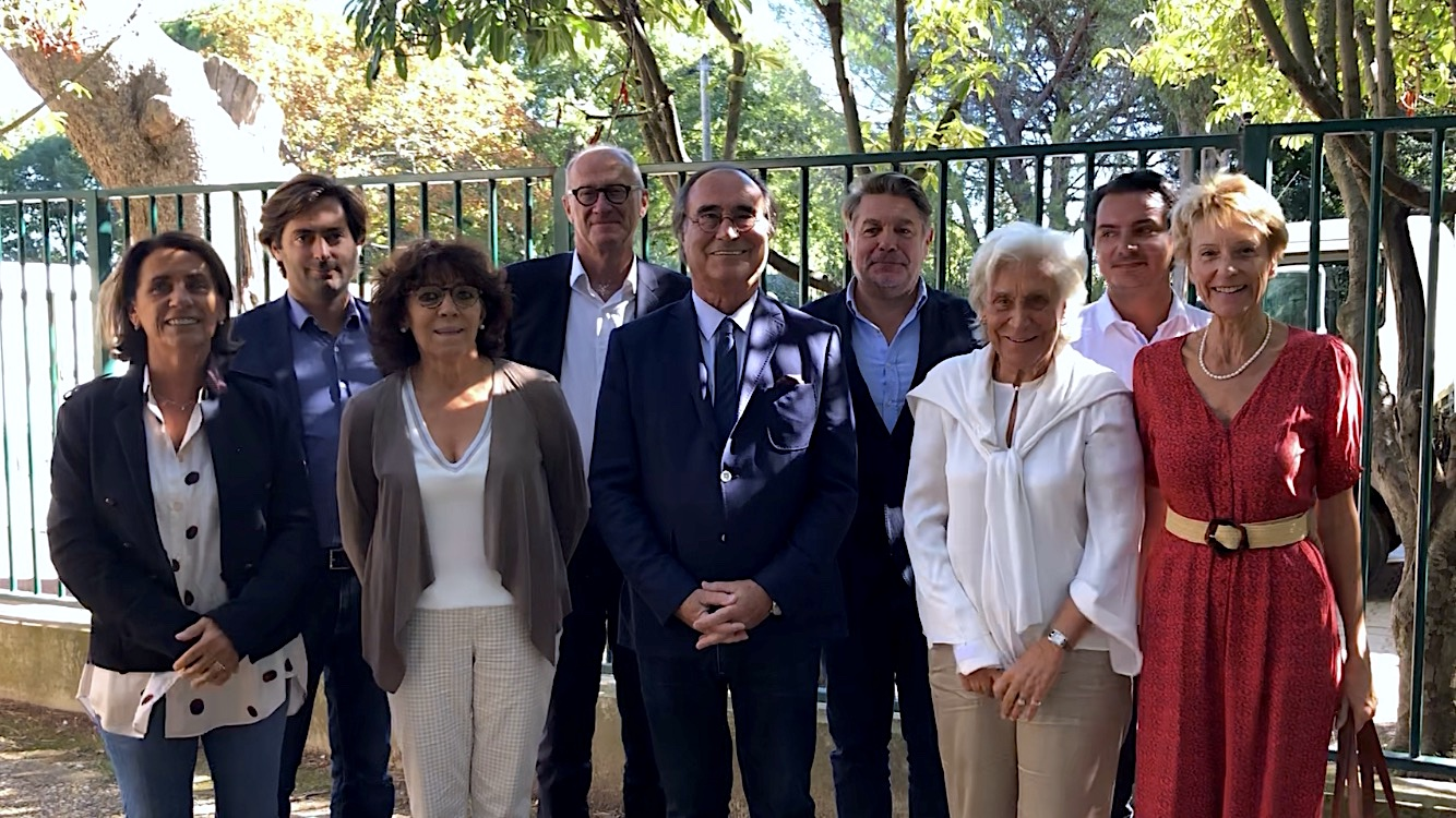 Conférence de presse de rentrée. Sète, septembre 2021 (©JPV)