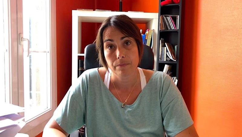 Sophie Mazas avocate au barreau de Montpellier, et Présidente de la Ligue des Droits de l'Homme de l'Hérault ©JPV