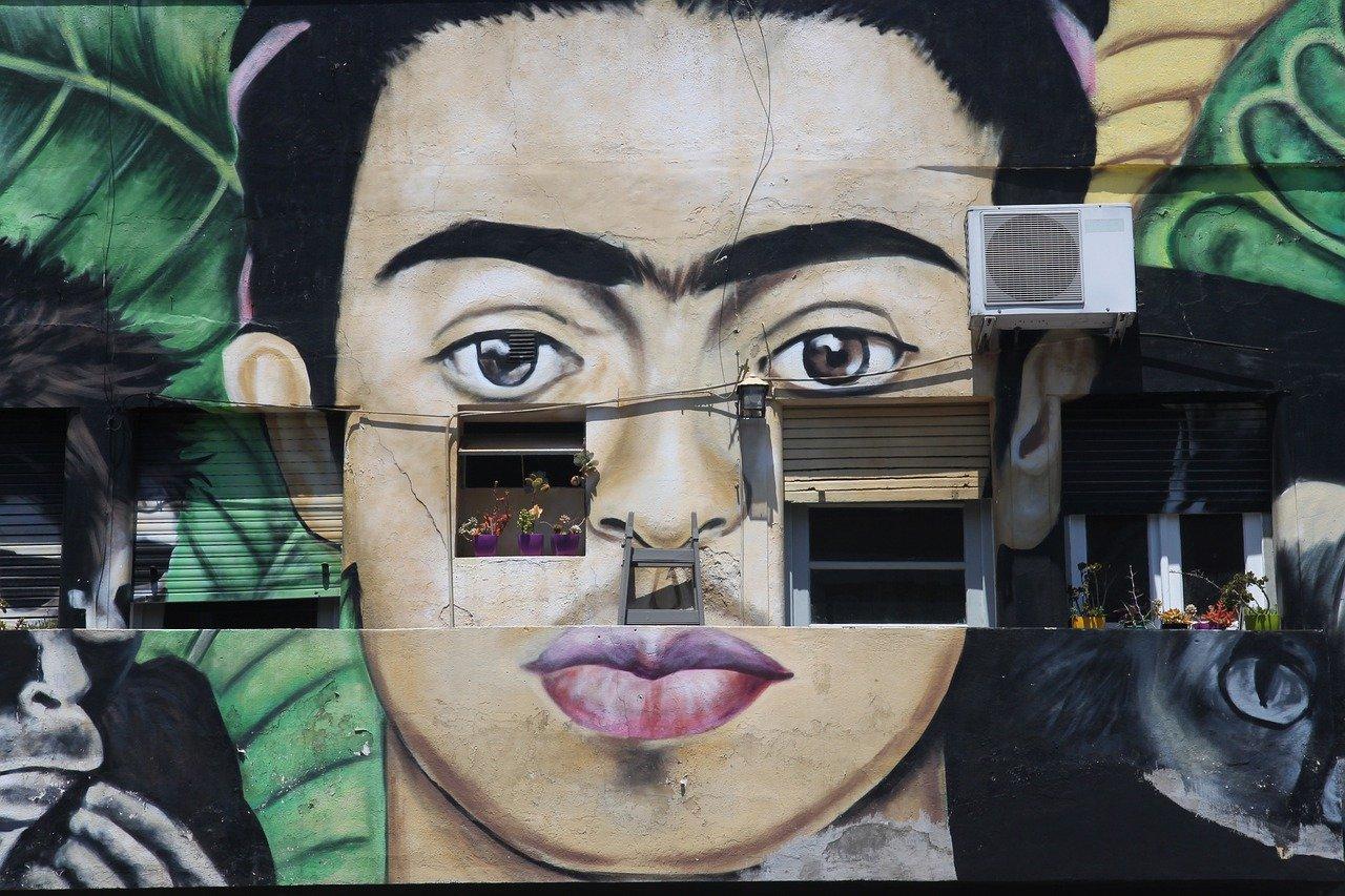 Frida Kahlo-peinture murale