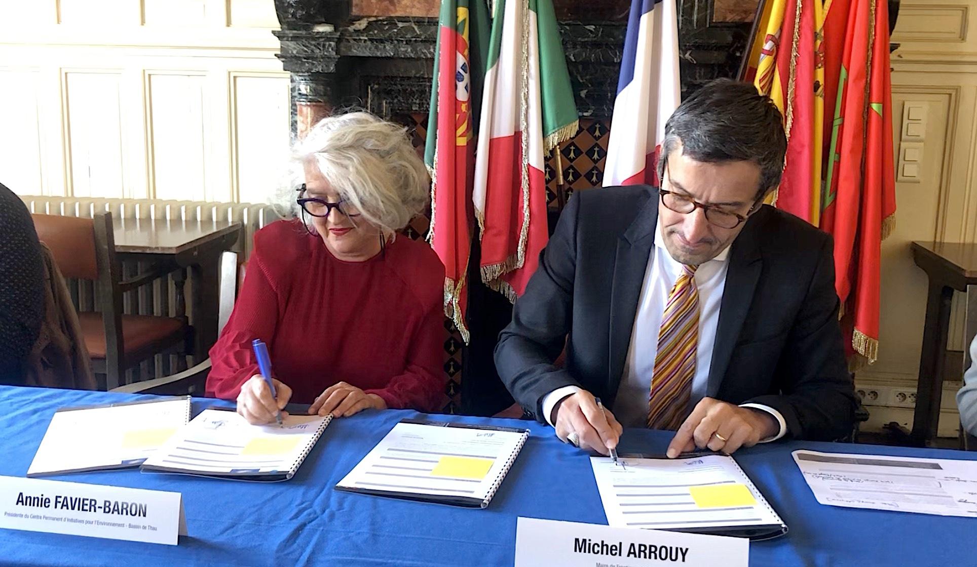 Annie Favier Baron et Michel Arrouy octobre 2021 (©JPV)