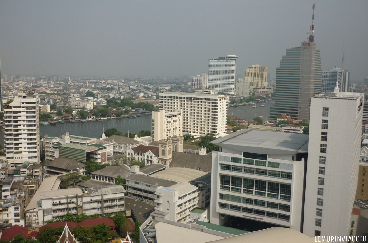Panorama Bangkok dal Lebua