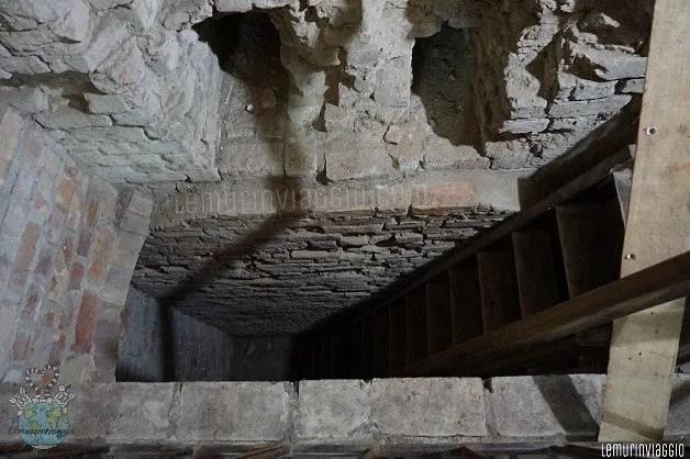 Castello di Reszel segrete dove era imprigionata Barbara Zdunk