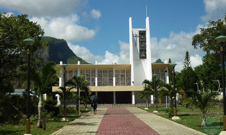 chiesa di Saint Croix Mauritius dove si trova la salma di padre Pere Laval