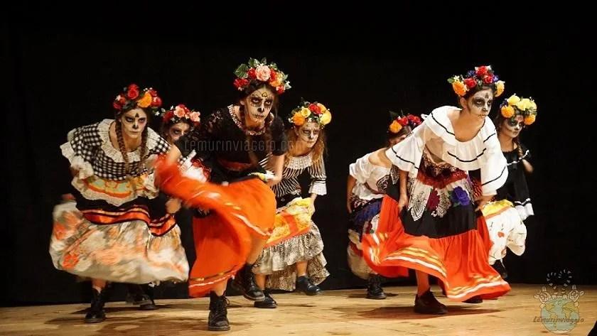 Danze dia de los muertos per halloween a Gradara