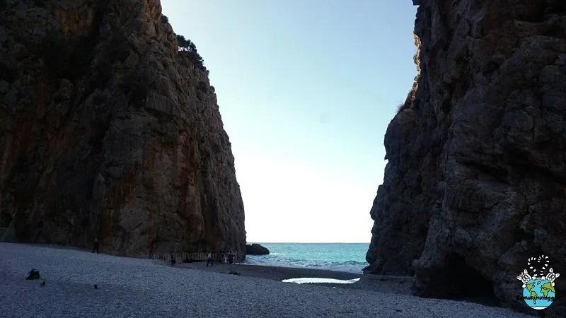 Torrent de Pareis meraviglia della natura a Sa Calobra