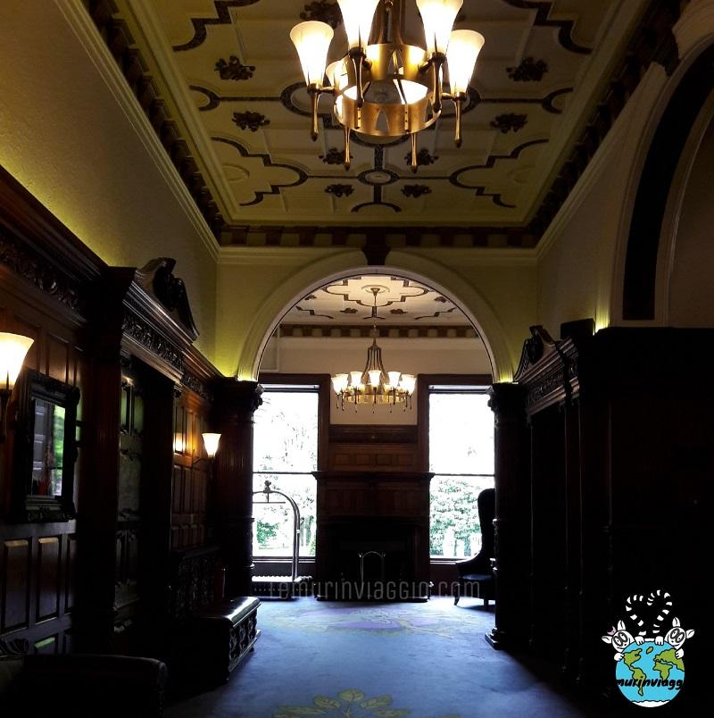 I corridoi interni dell'Ardoe House