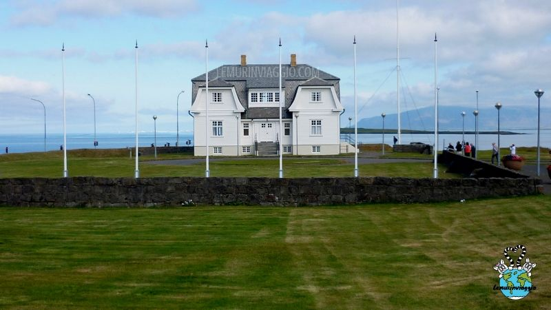 Hofdi House a Reykjavik in Islanda
