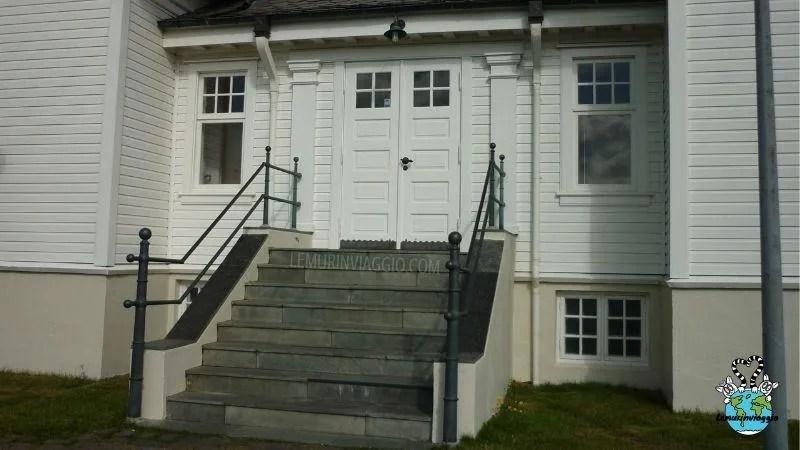 Ingresso della Hofdi House di Reykjavik dove Reagan e Gorbaciov si strinsero la mano