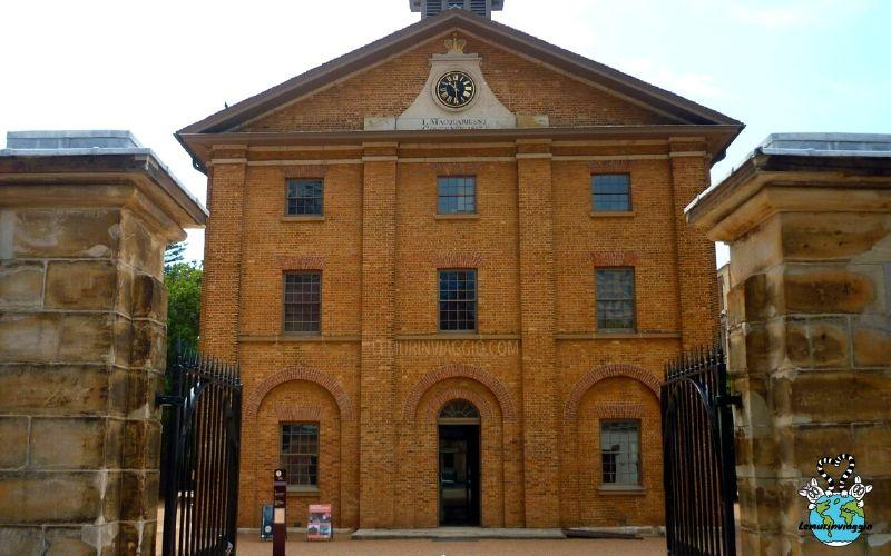 nel museo Hyde Barracks di Sydney si ripercorre la storia austrliana