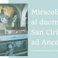 Miracoli al duomo di San Ciriaco ad Ancona