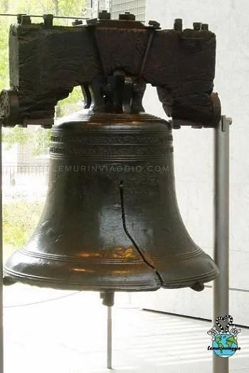 Liberty Bell una campana della libertà a philadelphia